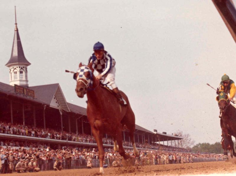 1973 finish line