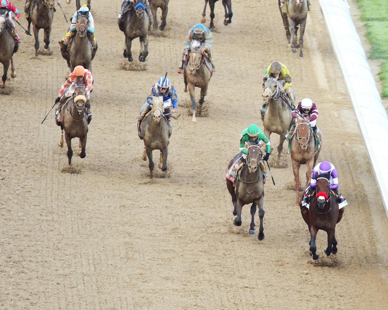 143 kentucky derby Aerial Head On