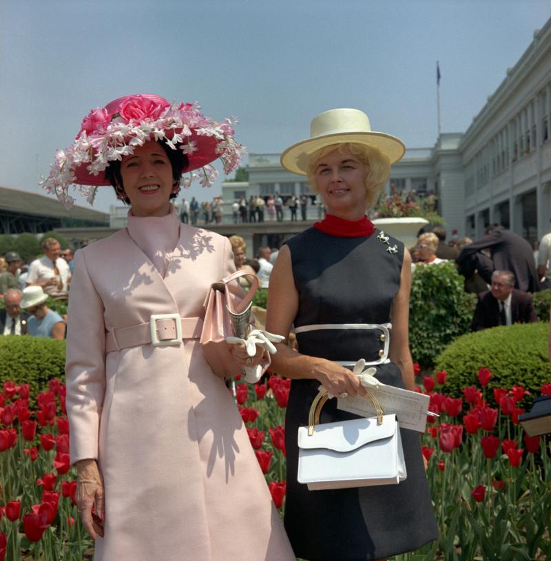1969 2 ladies hats