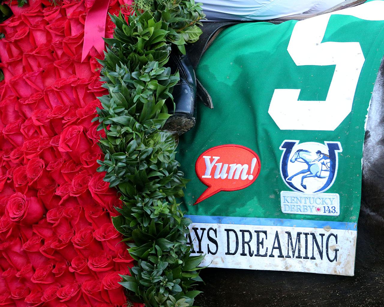 ALWAYS-DREAMING----The-Kentucky-Derby-Gr-1---143rd-Running---05-06-17---R12---CD---Saddle-Towel-1