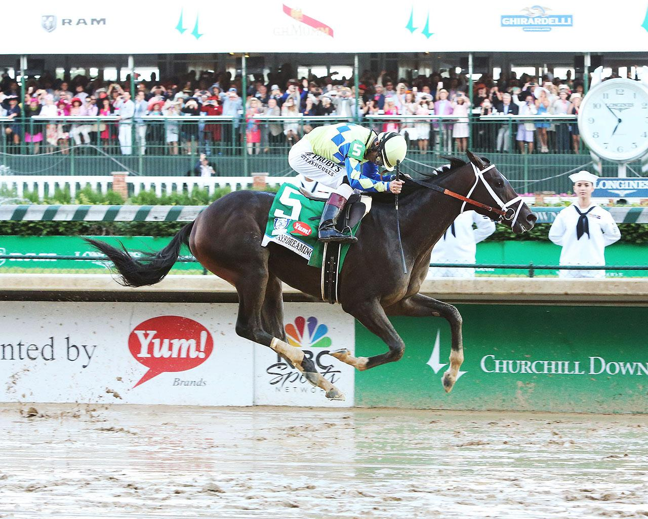 ALWAYS-DREAMING----The-Kentucky-Derby-Gr-1---143rd-Running---05-06-17---R12---CD---Finish-1