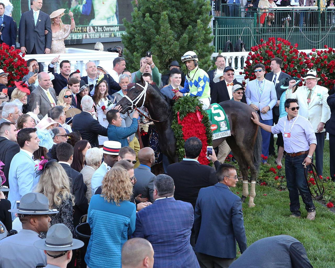 ALWAYS-DREAMING----The-Kentucky-Derby-Gr-1---143rd-Running---05-06-17---R12---CD---Winner-Circle-Scenic-1