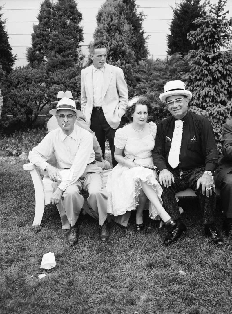 1954 guys in hats