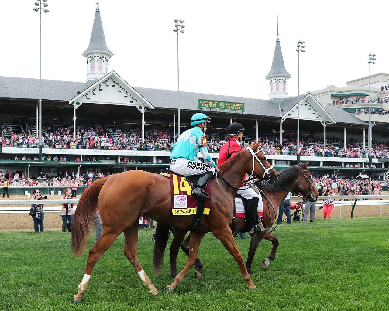 MONOMOY-GIRL---Longines-Kentucky-Oaks---G1---144th-Running---05-04-18---R11---CD---Post-Race-05