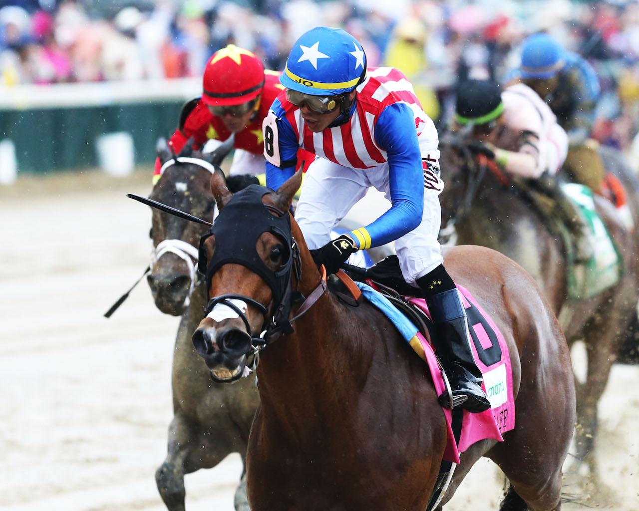 AMERICAN GAL - The Humana Distaff G1 - 32nd Running - 05-05-18 - R06 - CD - Inside Finish 01
