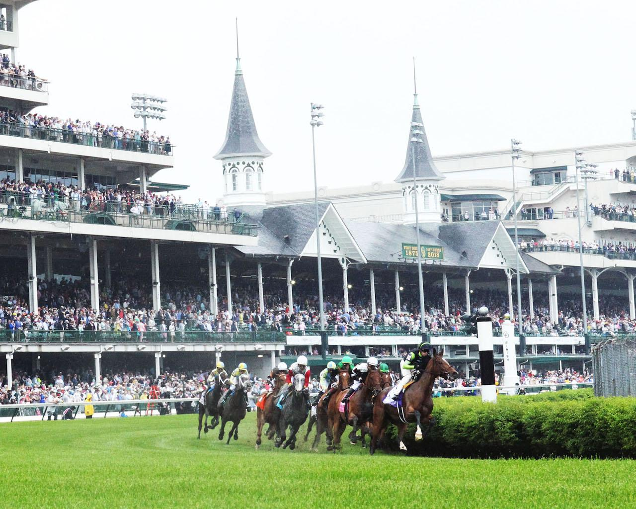 PROCTOR'S LEDGE - The Longines Churchill Distaff Turf Mile G2 - 33rd Running - 05-05-18 - R07 - CD - Sweeping Turn 01
