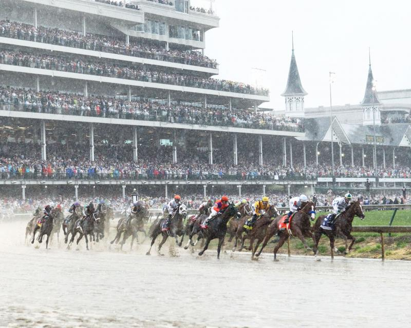 JUSTIFY - The Kentucky Derby G1 - 144th Running - 05-05-18…