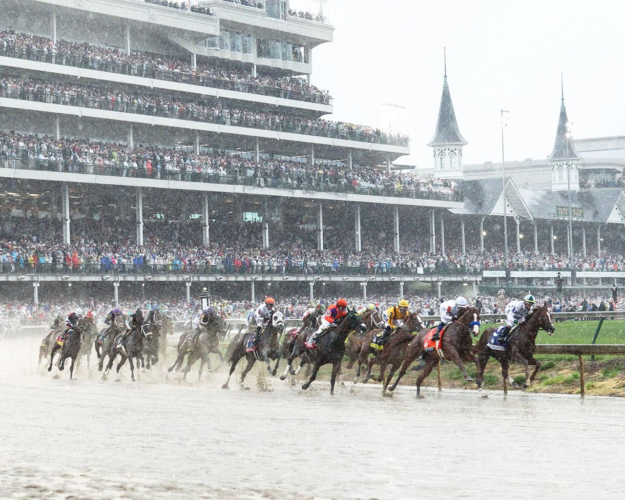 JUSTIFY---The-Kentucky-Derby-G1---144th-Running---05-05-18---R12---CD---First-Turn-01
