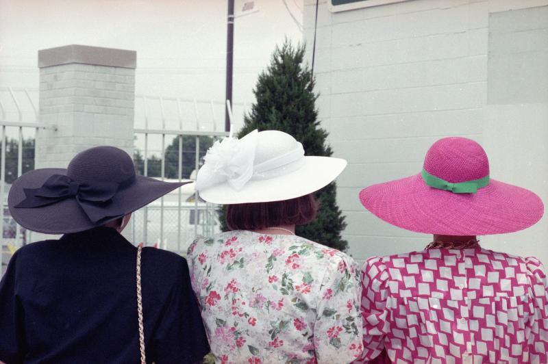 1989 roll 6  #6 hats