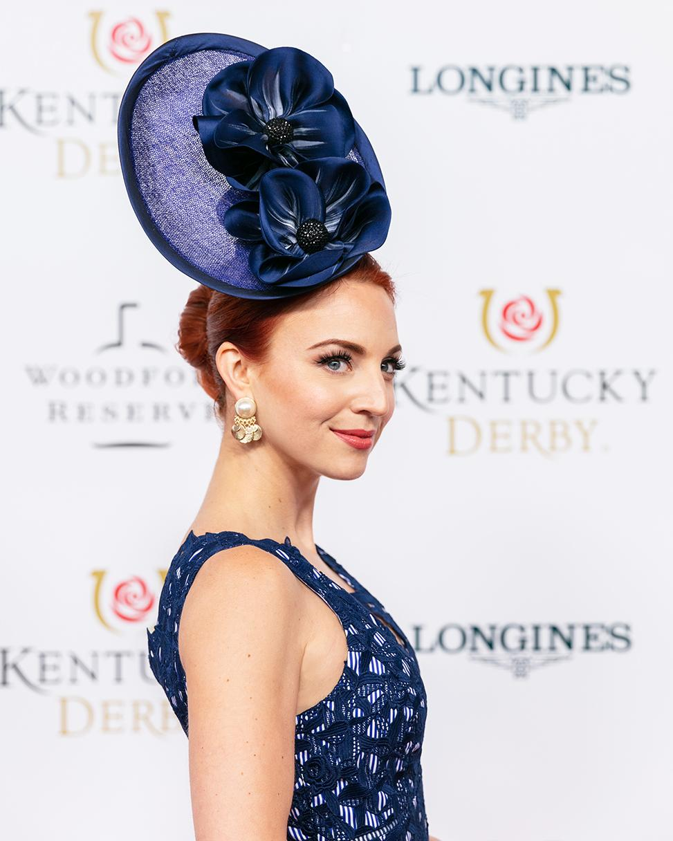 Derby Day Reveal Hat Red Carpet