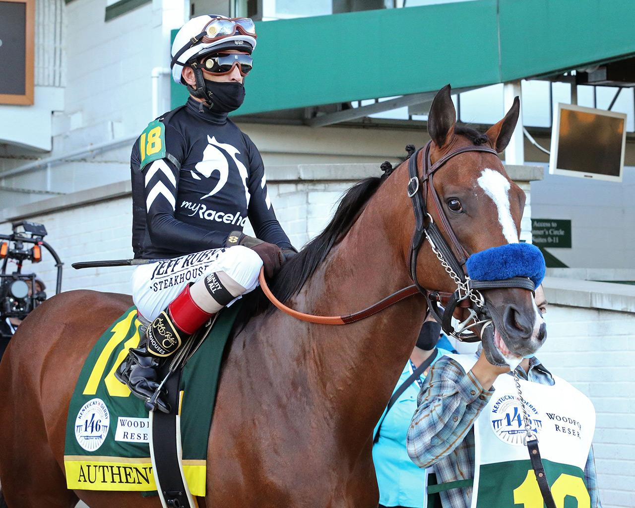 AUTHENTIC---The-Kentucky-Derby---146th-Running---09-05-20---R14---CD---Post-Parade-01