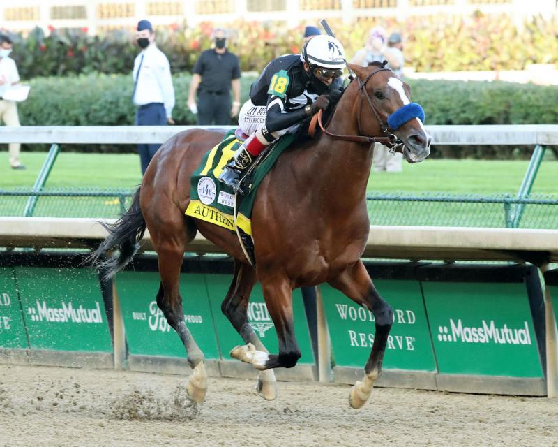 AUTHENTIC - The Kentucky Derby - 146th Running - 09-05-20…