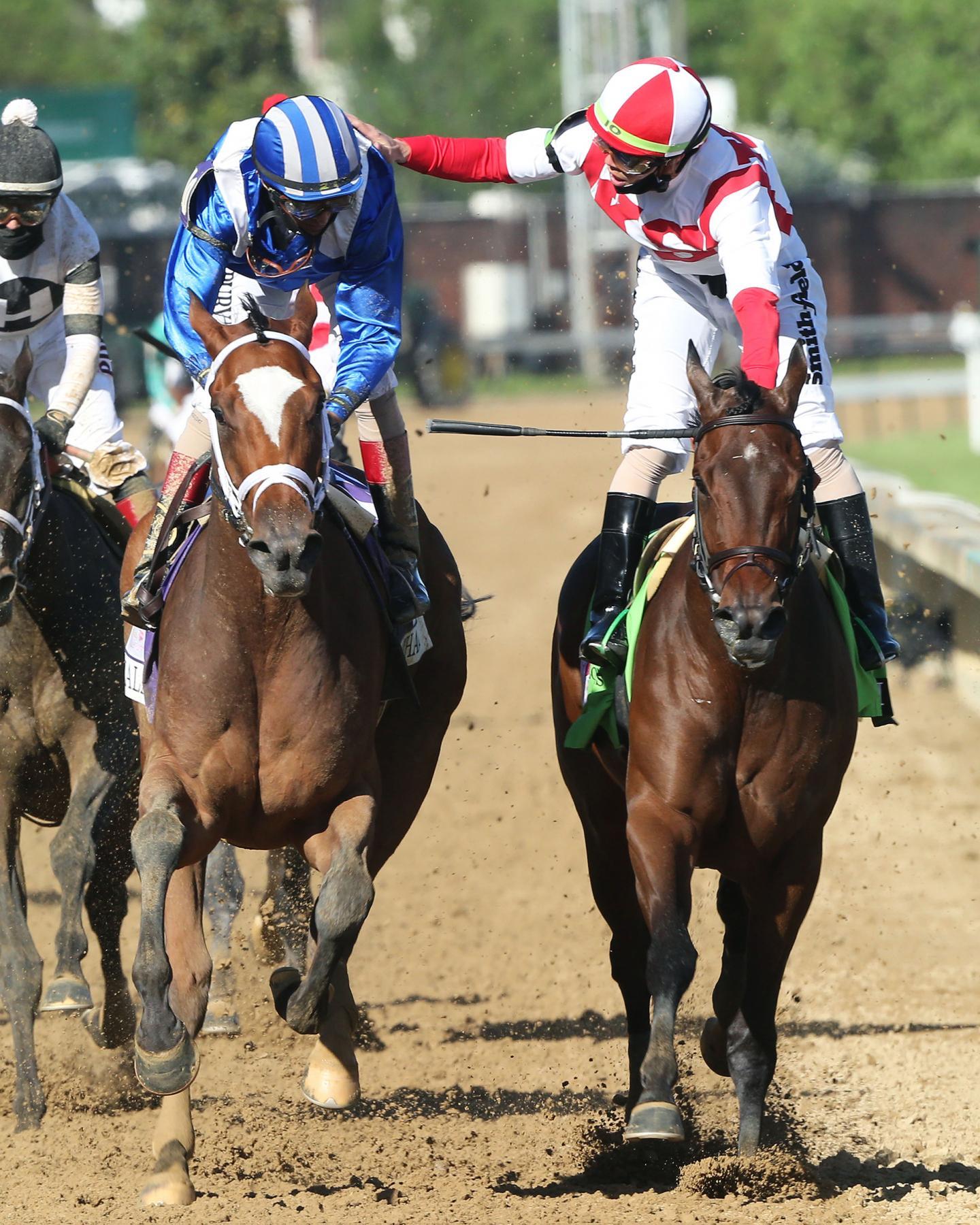MALATHAAT---The-Kentucky-Oaks-G1---147th-Running---04-30-21---R11---CD---Celebration-03