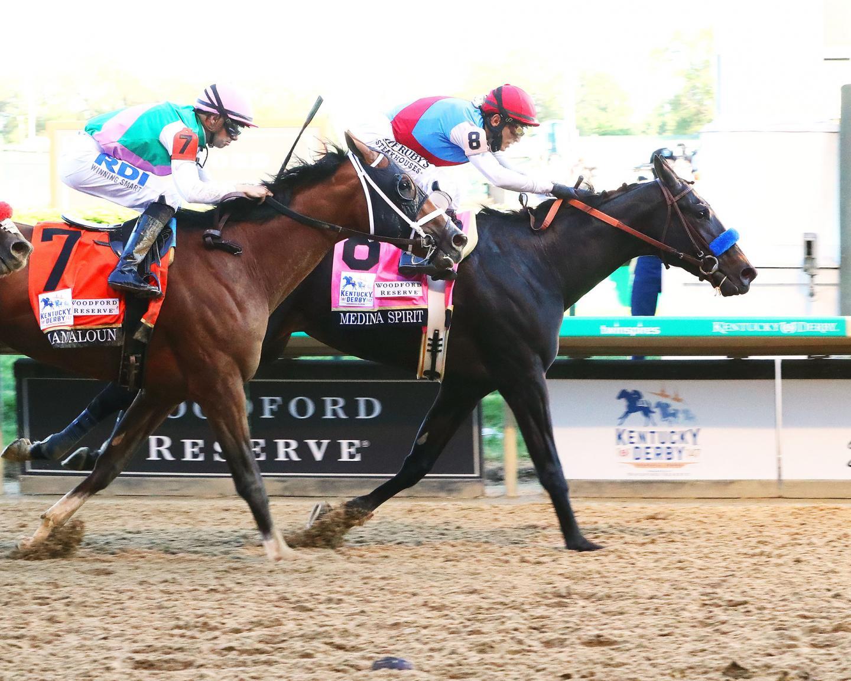 MEDINA-SPIRIT---The-Kentucky-Derby-G1---147th-Running---05-01-21---R12---CD---Finish-01