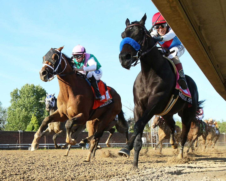 MEDINA-SPIRIT---The-Kentucky-Derby-G1---147th-Running---05-01-21---R12---CD---Under-Rail-Turn-01