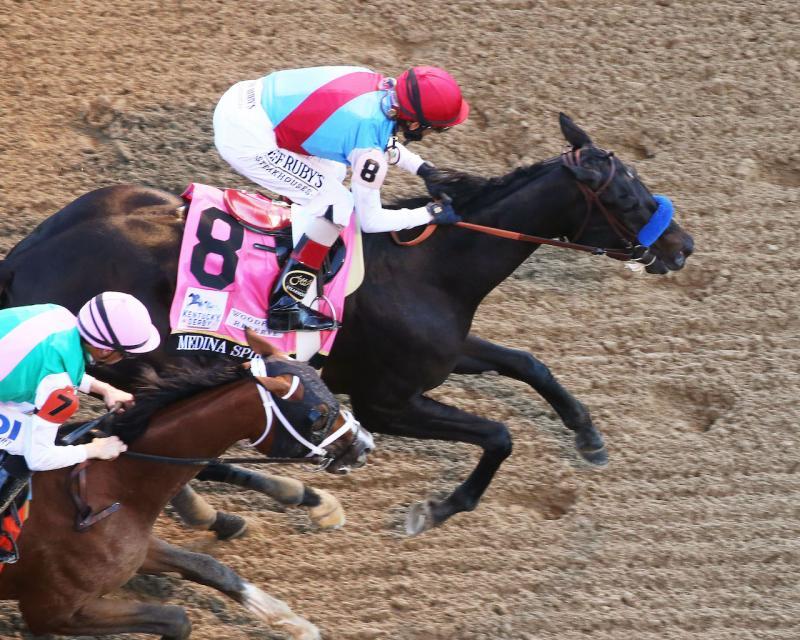 MEDINA SPIRIT - The Kentucky Derby G1 - 147th Running -…