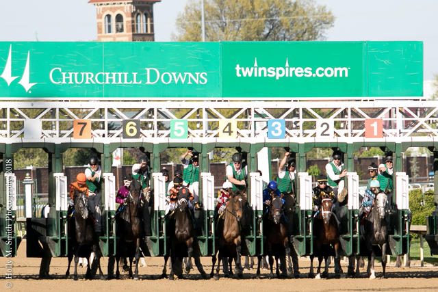 Churchill Downs starting gate (Coady Photography/Churchill Downs)