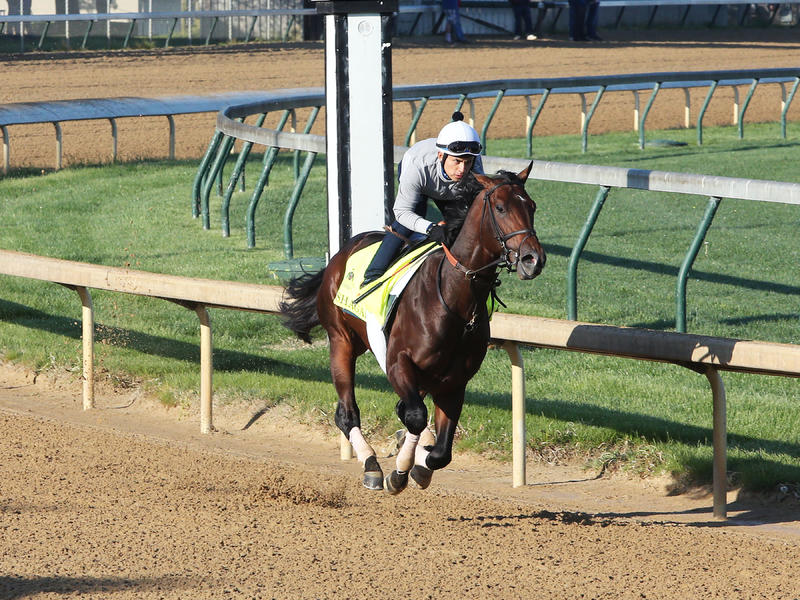 Shagaf, My Man Sam Record First Churchill Downs Works