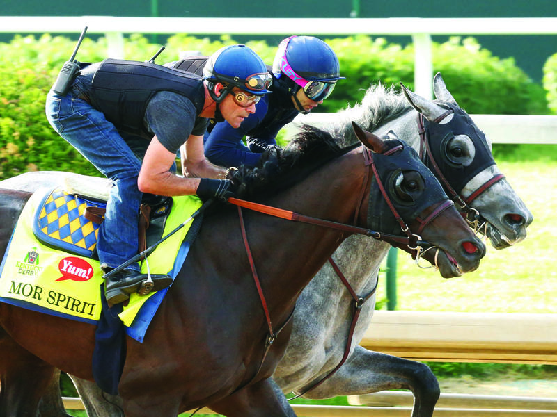 Bafffert's Mor Spirit,Asmussen's duo of Gun Runner and Creator Work