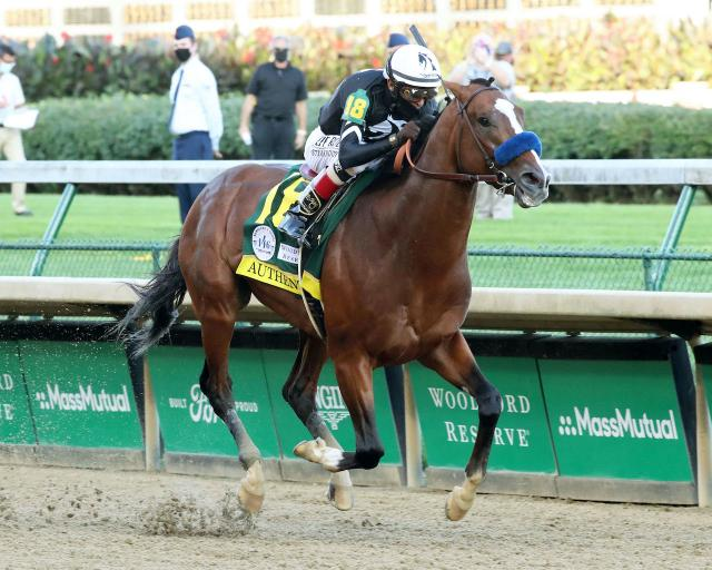 Authentic wins the 2020 Kentucky Derby