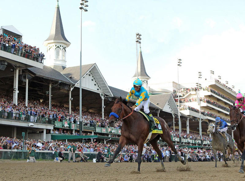 ​Classic victory would add to American Pharoah's legacy