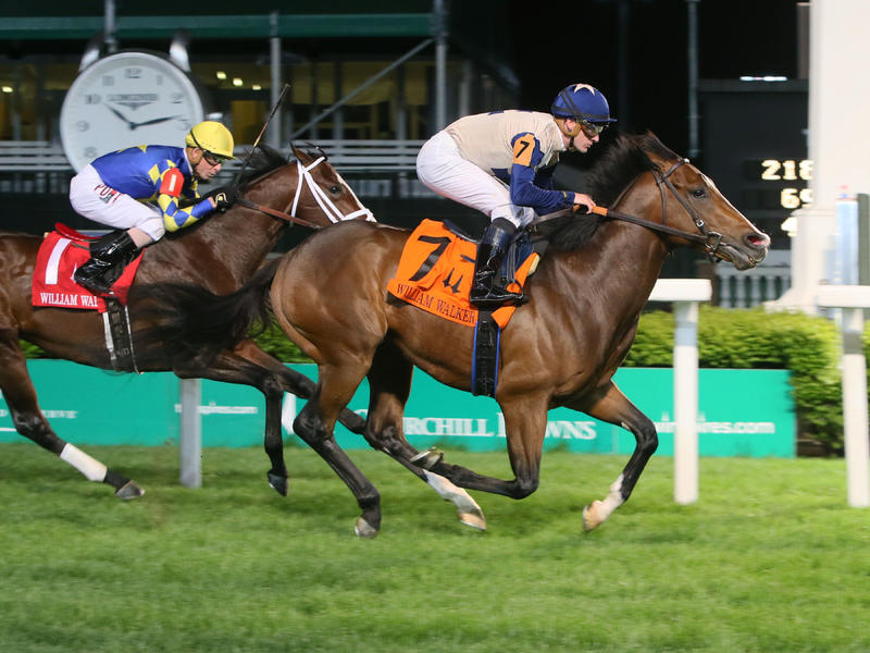 Churchill Downs Stakes Recap & Quotes: Favored Beckford Rallies to Win Opening-Night William Walker