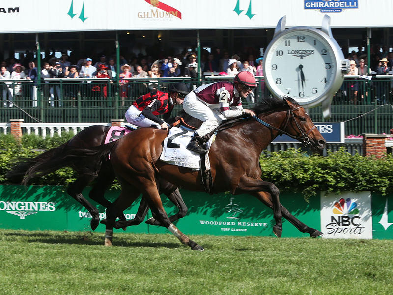 Churchill Downs Stakes Recap & Quotes: Woodford Reserve Turf Classic