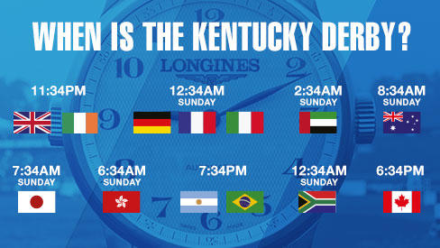 When is the Kentucky Derby and what time will it take place?