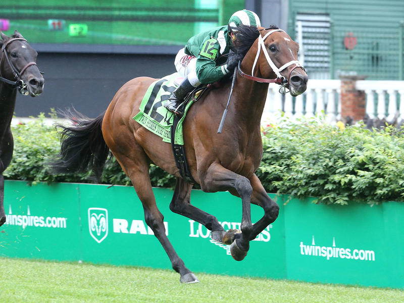 Stakes Recap & Quotes: Twin Spires Turf Sprint