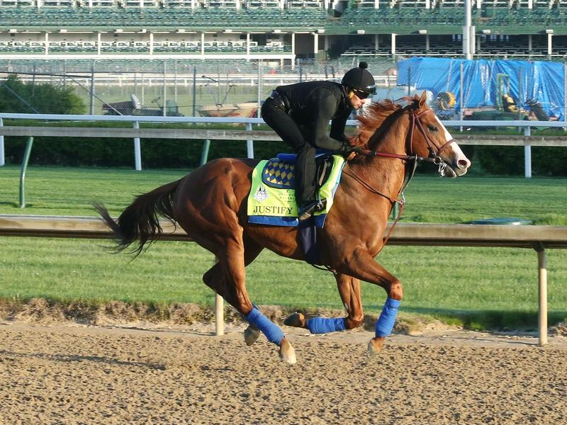 Undefeated Justify 3-1 Morning Line Favorite For Kentucky Derby Presented By Woodford Reserve