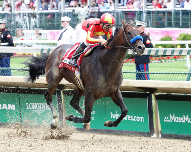 McKinzie wins the Alysheba Stakes (G2) at Churchill Downs