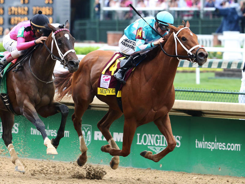 MONOMOY GIRLS OUTDUELS WONDER GADOT TO WIN 144TH LONGINES KENTUCKY OAKS BEFORE 113,510