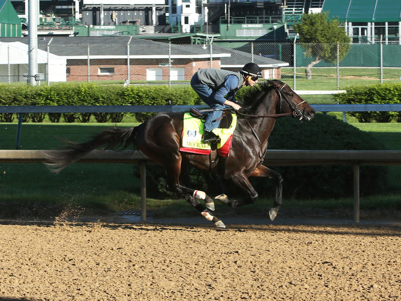 McCraken Breezes Five Furlongs;… News Image