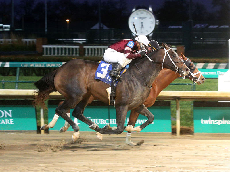 Necker Island wins at Churchill Downs in 2019 (Coady Photography)