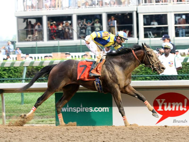 Street Sense wins the 2007 Kentucky Derby