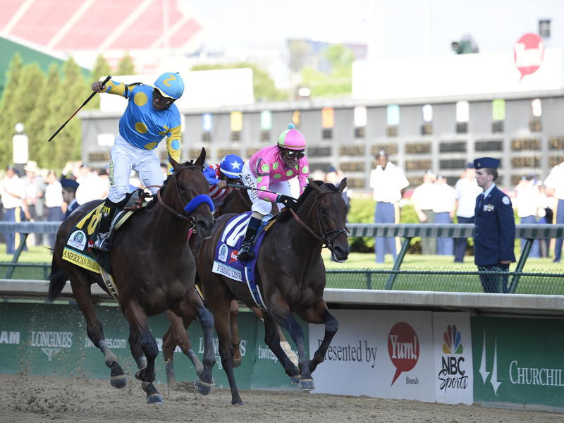 American Pharoah sails to Kentucky Derby 141 victory