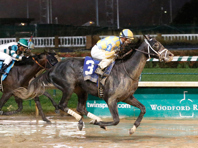 ​Airoforce relishes wet conditions in Kentucky Jockey Club victory