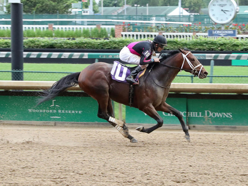 Art Collector wins a Churchill Downs allowance