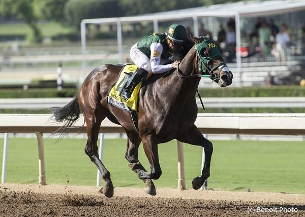 Early Kentucky Derby favorite Bolt d'Oro seeks to widen gap in Juvenile