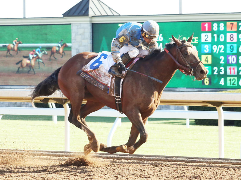 Blue Grass winner Brody's Cause will bring staunch late kick to Kentucky Derby