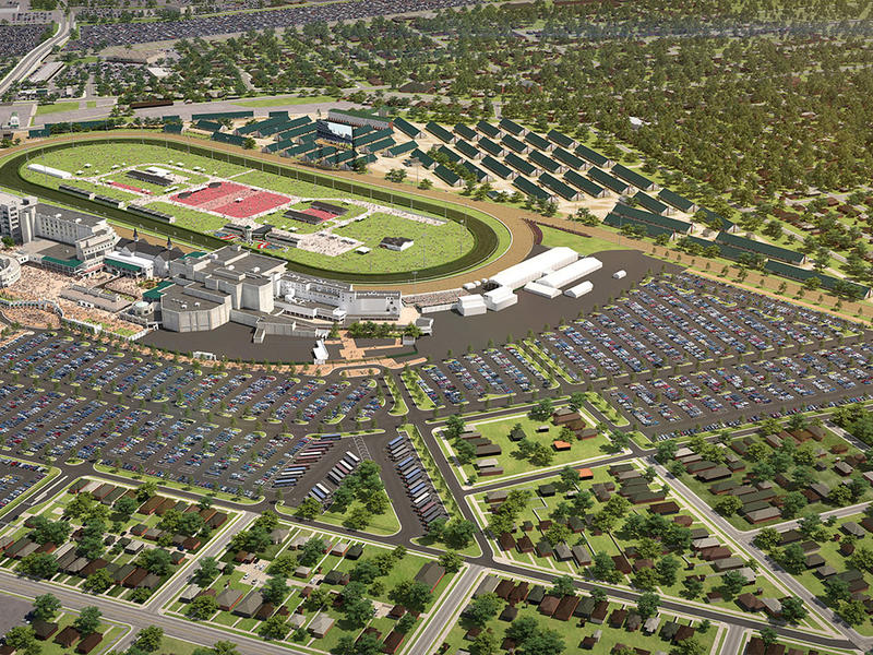 Churchill Downs Invests $32 Million to Improve Parking and Transportation Experience for Kentucky De