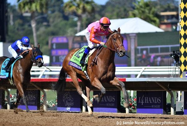 Caledonia Road captures Breeders' Cup Juvenile Fillies