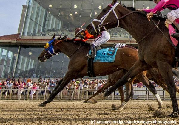 Chocolate Martini rockets to top of Oaks Leaderboard with Fair Grounds Oaks upset