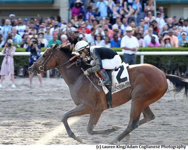 Coach Rocks captures stakes debut in Gulfstream Park Oaks