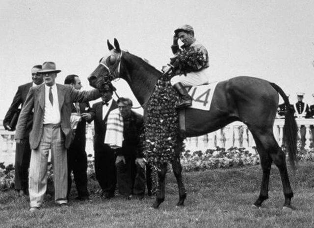 Count Turf wins the 1951 Kentucky Derby