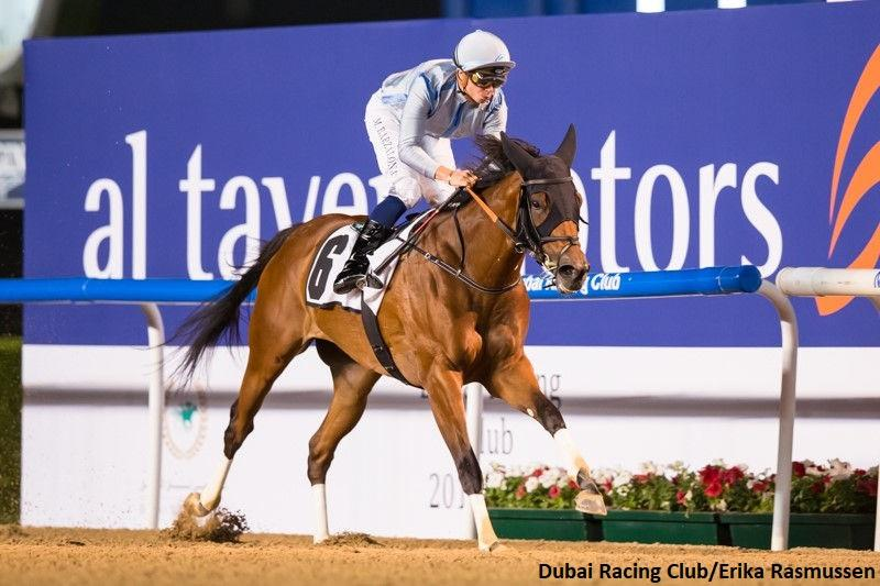 Down on Da Bayou romps in UAE Oaks