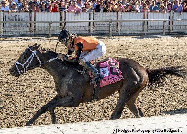 Louisiana Derby winner Girvin… News Image