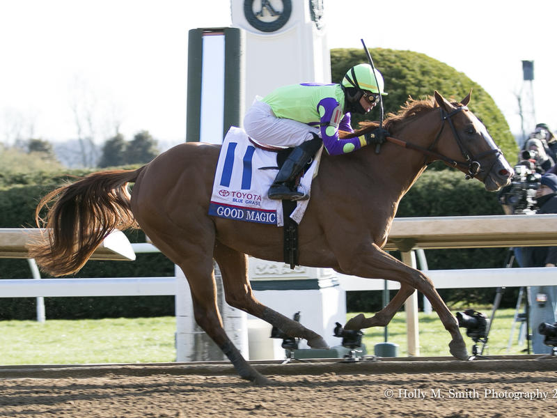Kentucky Derby field nearly set with two preps to go
