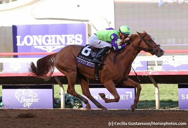 Kentucky Derby and Oaks points leaders Good Magic, Caledonia Road among Eclipse Awards finalists
