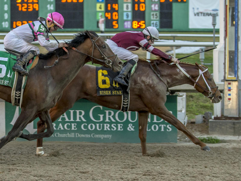 Gun Runner returns a winner in Risen Star; TwinSpires.com Louisiana Derby next for up-and-coming col